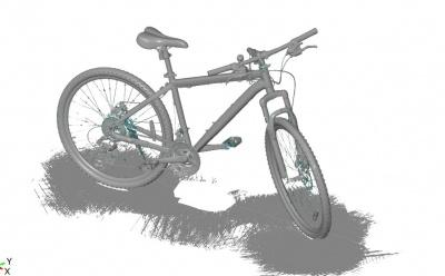 手持扫描仪高精度扫描3D自行车GOM公司官网
