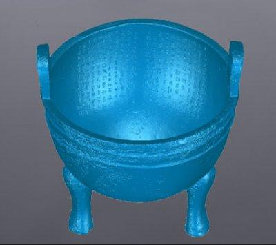 手持3D扫描仪应用-文物雕塑三维扫描案例