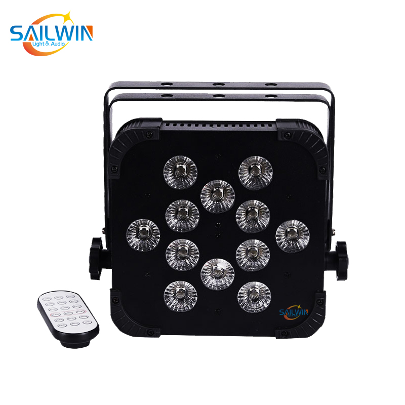 12*18W 6in1 Wireless LED Flat Par Light