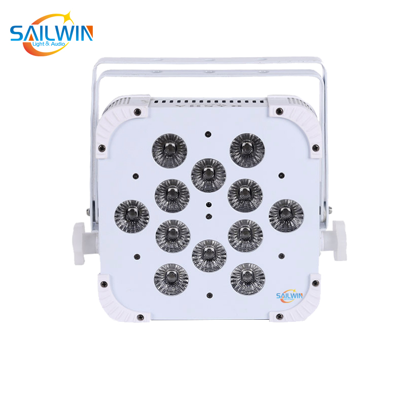 12*18W 6in1 2.4GHZ Wireless LED Flat Par Light