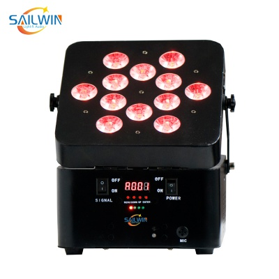 12x10W RGBW Battery Powered Par Light with Wireless Control