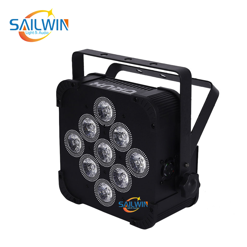 9x15W 5in1 Battery Powered Wireless LED Par Light
