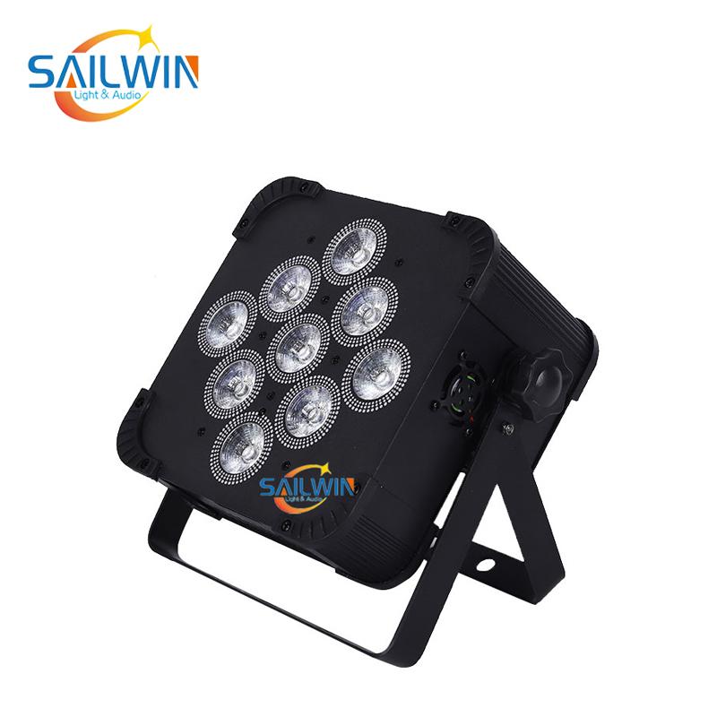 9x18W 6in1 Mobile APP Battery Powered Wireless LED Par Light