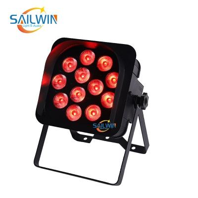 12x18W 6in1 APP Mobile Battery Powered Wireless LED Par Light