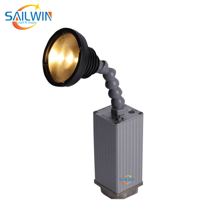 10W WW/CW ZOOM Epin Battery Powered IRC LED Pinspot Light Magnetic