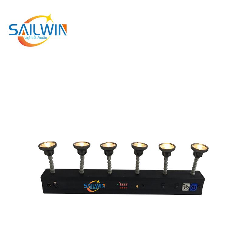 60W DMX Battery Powered LED Pinspot Light