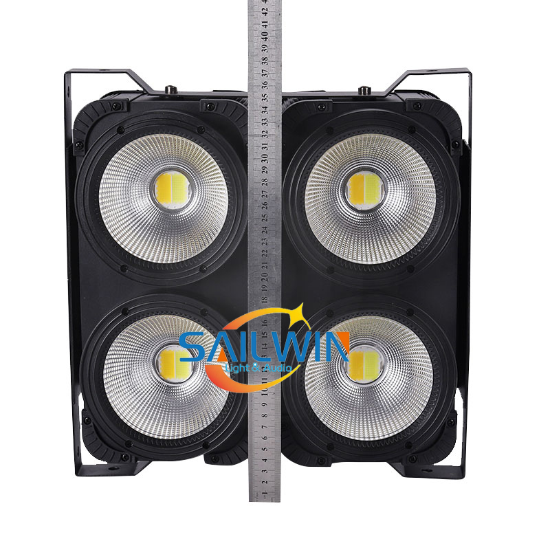 400W 4 Eyes COB 2in1 WW/CW Stage LED Blinder Light