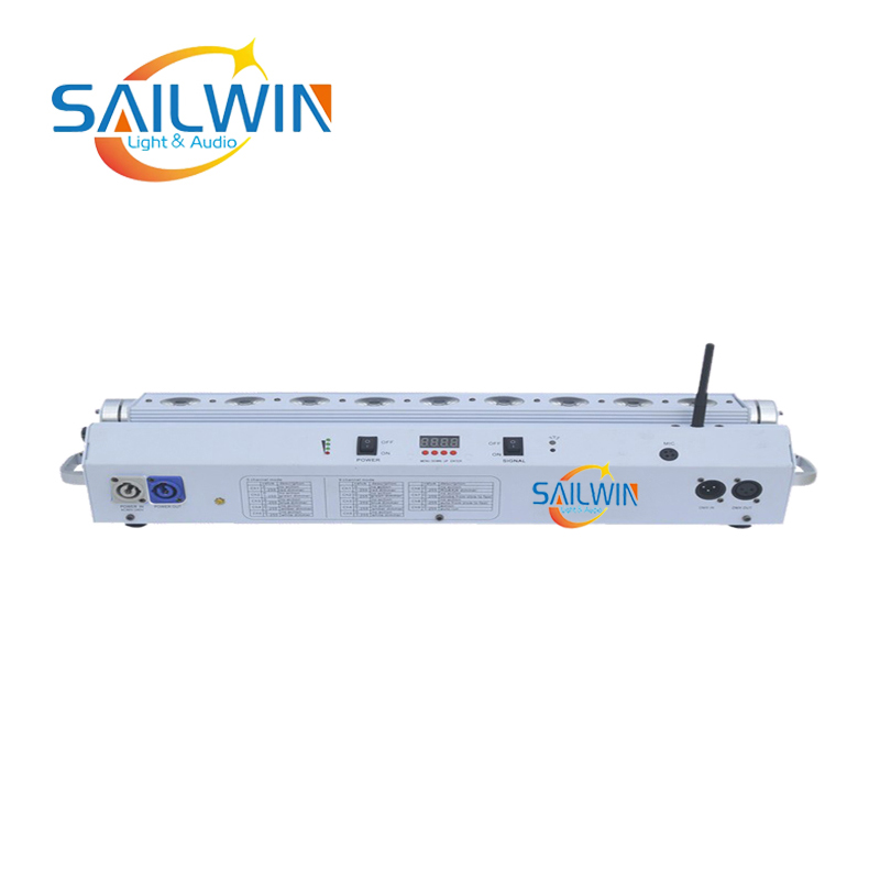 9x15W 5IN1 RGBAW Battery Operated Wireless LED Wall Washer
