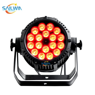 Outdoor Stage 18 x 18W IP65 Waterproof LED Par Light