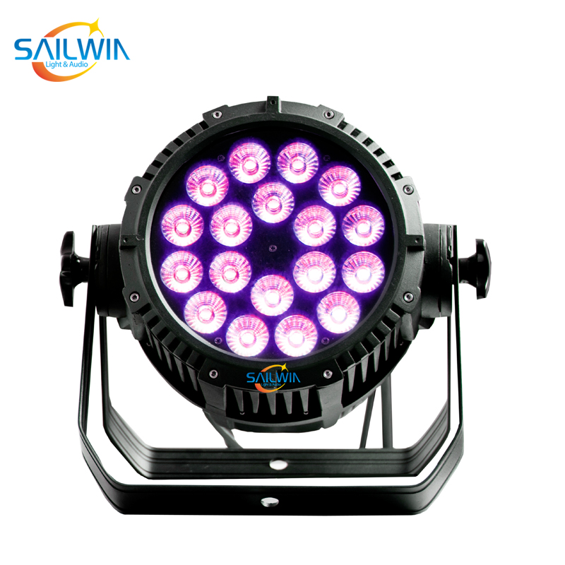 Outdoor Stage 18 x 18W IP65 Waterproof LED Par Light