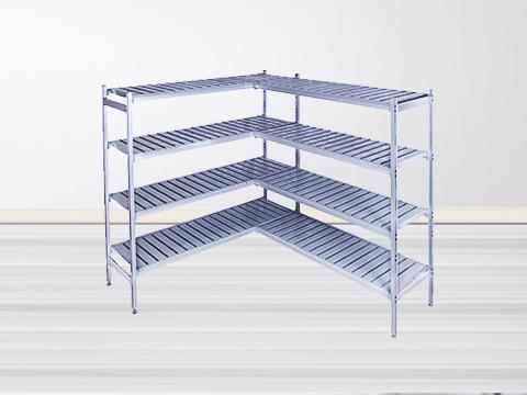 星级商用中央厨房必备——铝合金环保层架