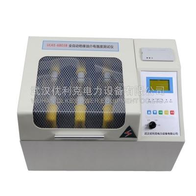 13.ULKE-6803B全自动绝缘油介电强度测试仪(三杯)