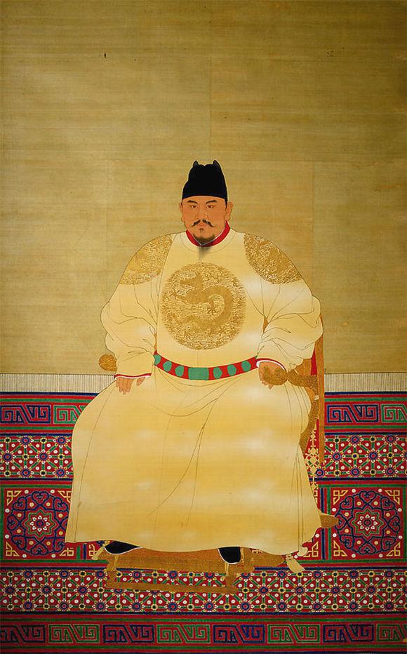 明朝历代皇帝是什么样子的?来看看他们的画...