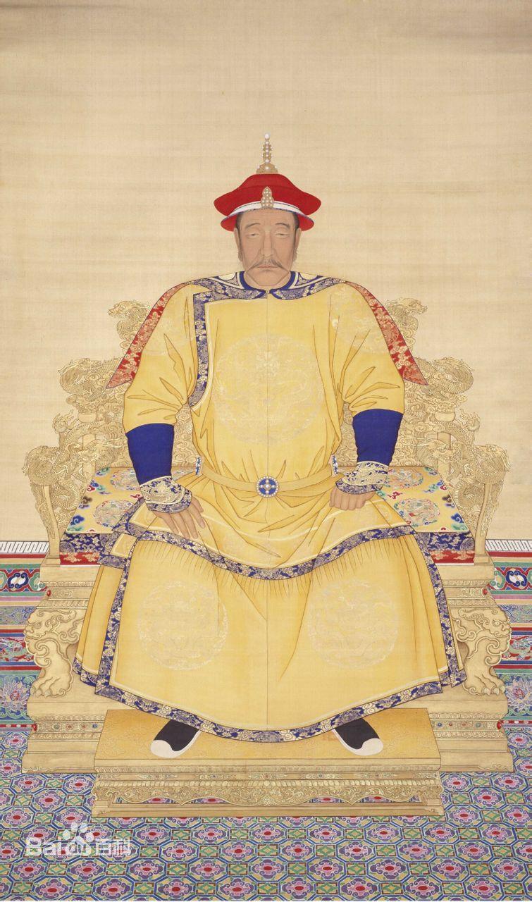 清朝历代皇帝的画像及命运介绍