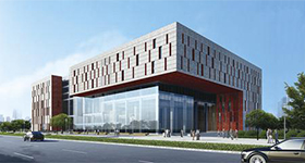 廣州蘿崗圖書檔案館綜合辦公大樓