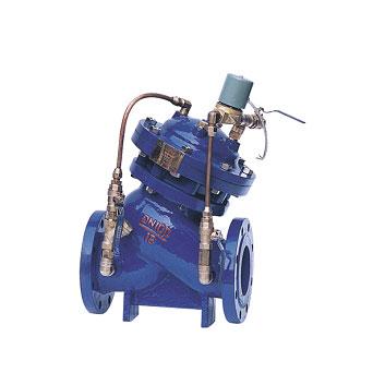 KVM745X过滤斜体式水力电磁阀