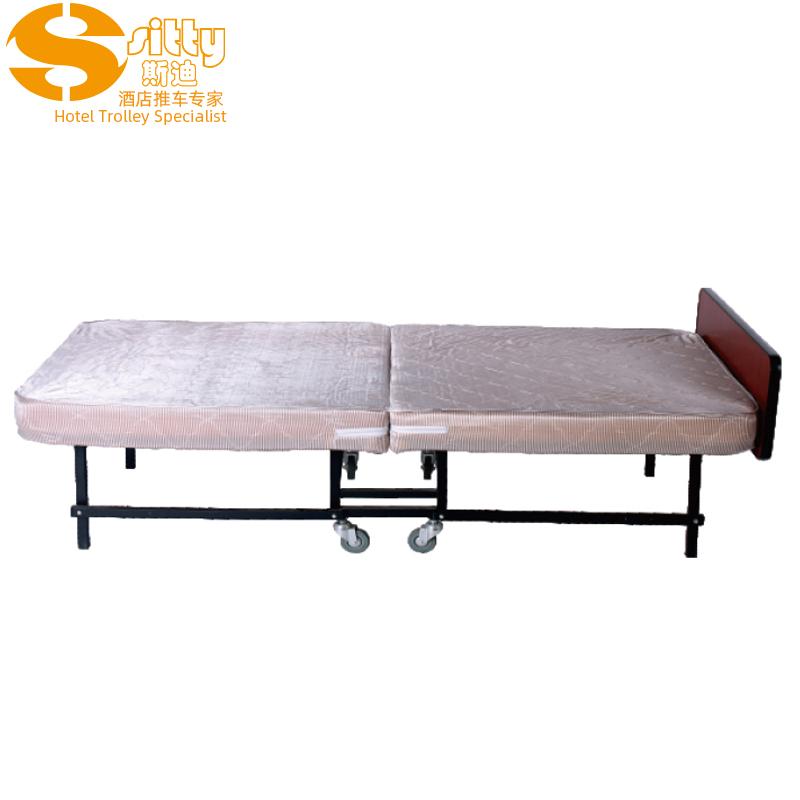 2400床头板自锁式简便折叠式海绵加床