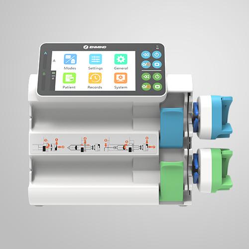 EN-S5D Dual Channel Syringe Pump