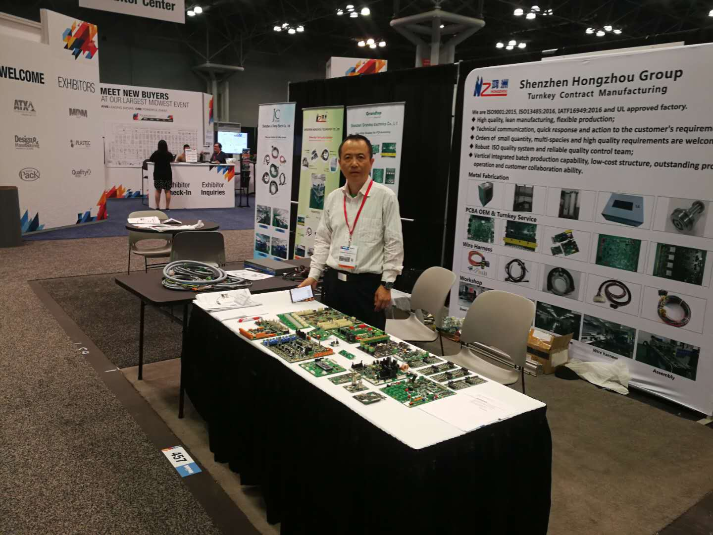 11th-13th,June,Hongzhou Group attend US Medical Design & Manufacturing Conference Expo 2019