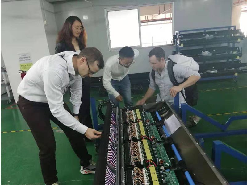 1th Nov.2019 USA customer Connor and Bacon visit Hongzhou