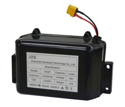 36V 4.4Ah electric self-balance scooters battery