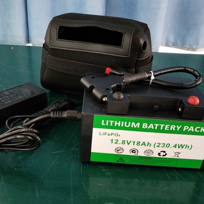 12.8V 18Ah Golf Trolley LiFePO4 Battery