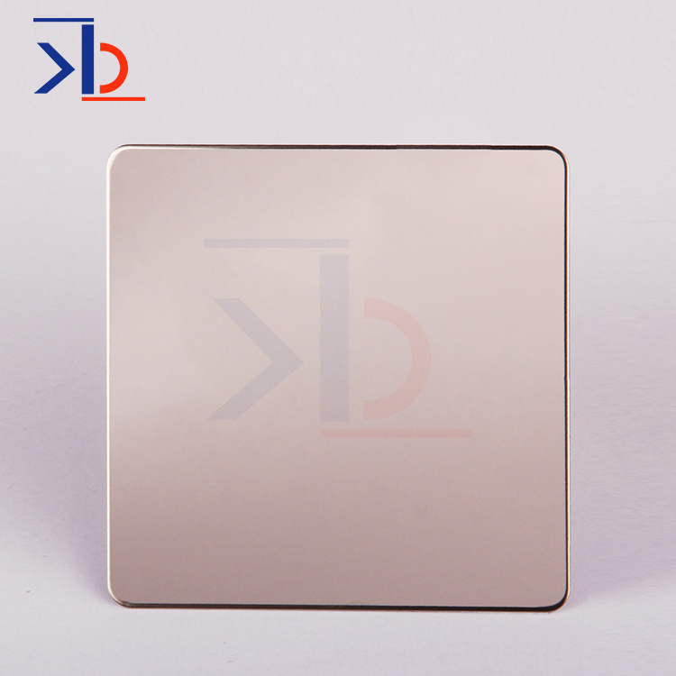 4X8 Buffing Stainless Steel Red Bronze Mirror Finish Stainless Steel Sheet