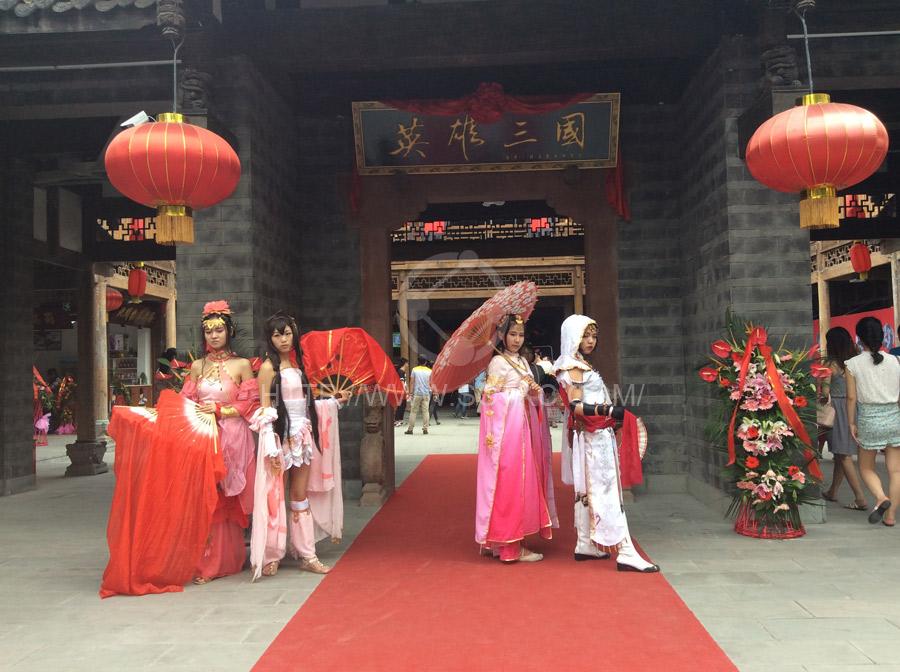 锦里三国文化街开街
