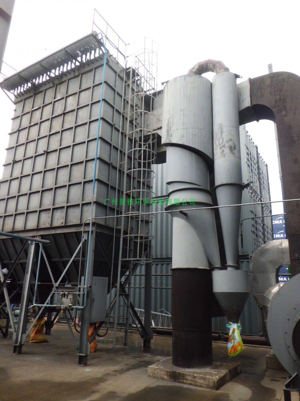 15T生物质锅炉除尘
