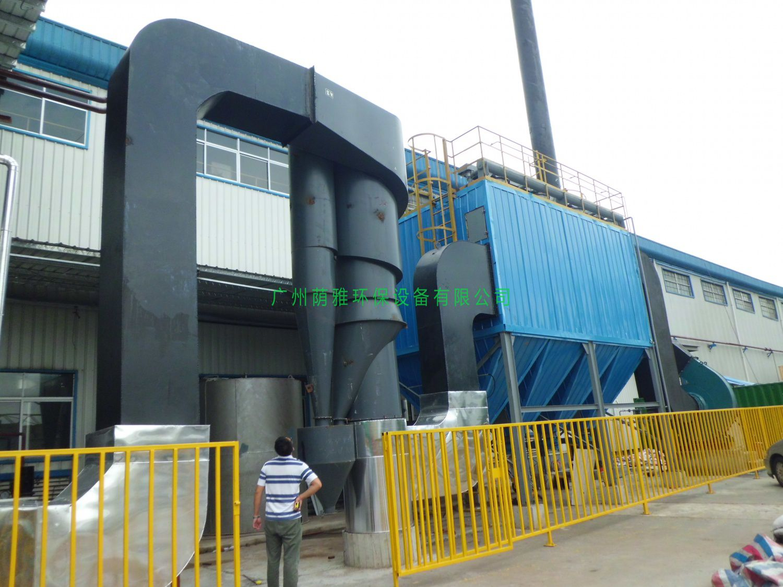 12T生物质锅炉除尘