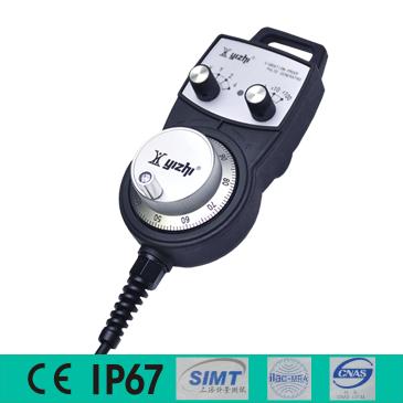 YZ-MINI-B022/021/241-100电子手轮手持单元适配所有数控系统/PLC/运动控制卡