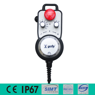 YZ-LX-A/B-021/022/401/241/242-25/100 数字式电子手轮/手持单元/采用单片机程序控制,具有智能、纠错、抗振、抗干扰、可远距离传输/支持非标定制