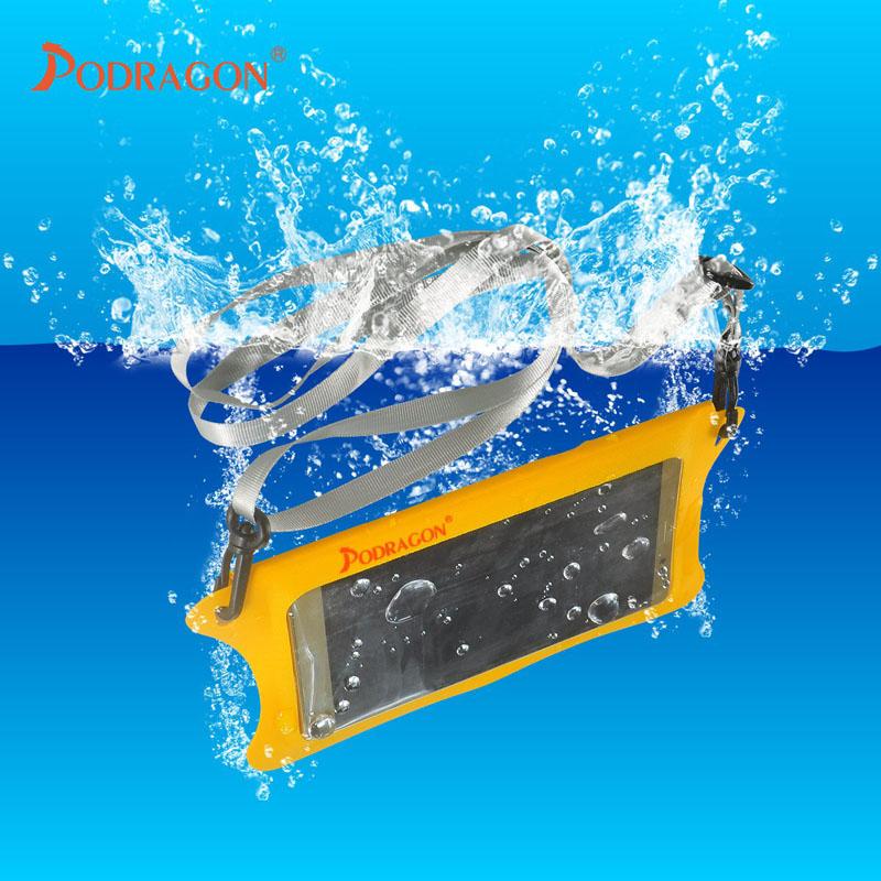 Podragon手机防水袋可潜水20米深多色tpu材质易用