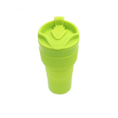 Hot sale in China outdoors silicone foldable cup coffee cup holder