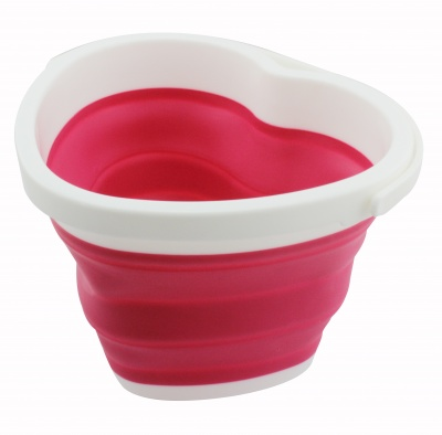 Silicone collapsible bucket Foldable Pail 10 Liter, Sand Beach Pail for kids DT toys