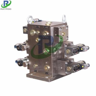 Hydraulic press hydraulic manifolda