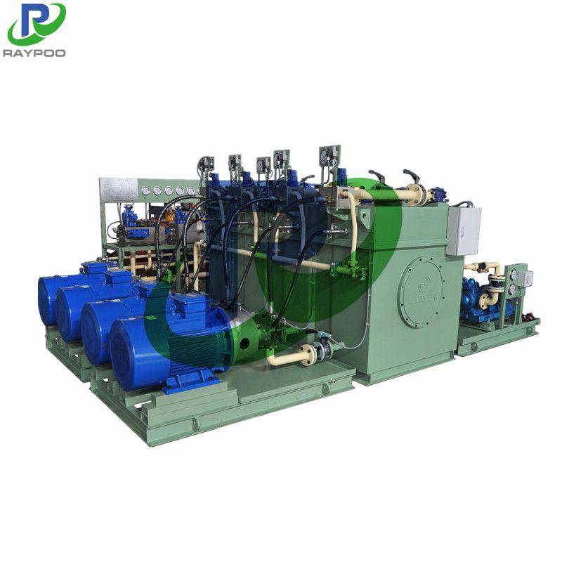 Metallurgical steel strip hydraulic system