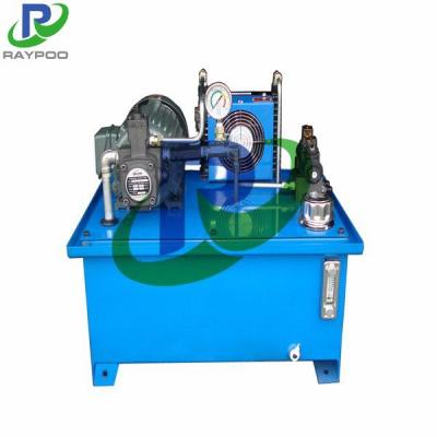 CNC machine tool hydraulic system