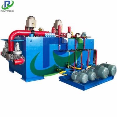 Scrap metal recycling hydraulic system