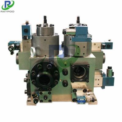 Scrap shearing machine hydraulic valve
