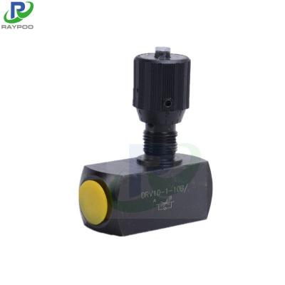 DRV Series tubular hydraulic throttle valve