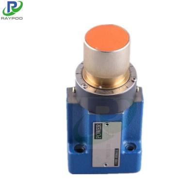 2FRM6 Series plate hydraulic speed regulating valve