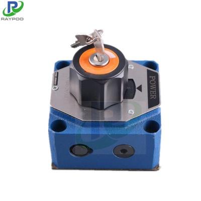 2FRM Series plate hydraulic speed regulating valve