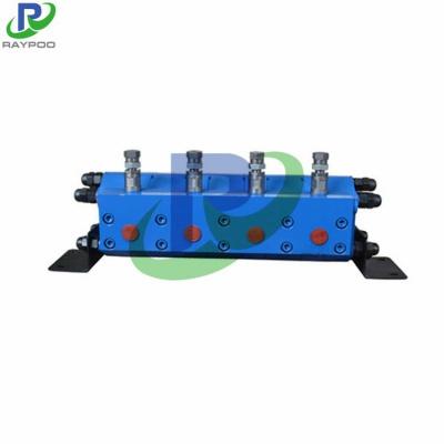 Gear split hydraulic motor