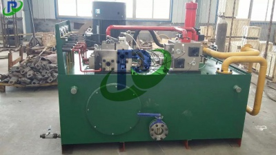 Hydraulic system of large press