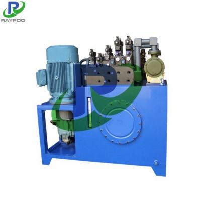 Packaging machine hydraulic system