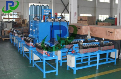 Large and heavy plate rolling mill large hydraulic system