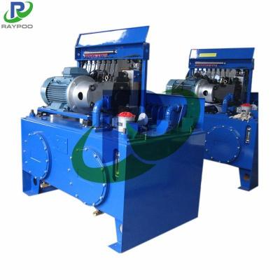 Hydraulic system of garbage transfer station