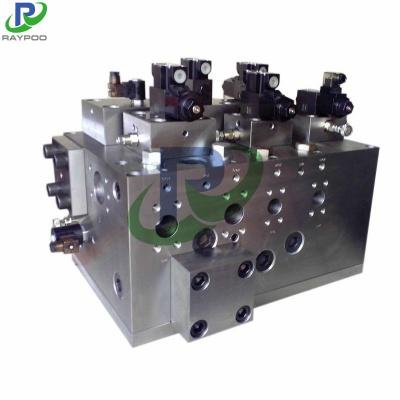 Rubber mechanical valve block