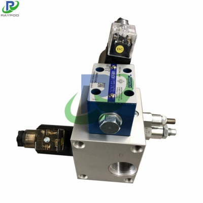 Engineering machinery control valve manifold